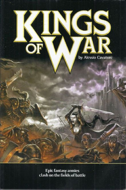 Kings of War 32 Page Core Rulebook with 4 Starter Army Lists by Alessio Cavatore